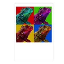Iguana Icon Postcards (Package of 8)
