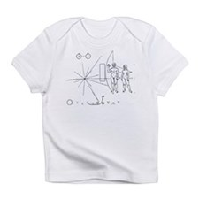 Pioneer Plaque Black Infant T-Shirt