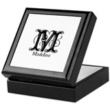 Madeline: Fancy Monogram Keepsake Box