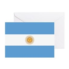 Argentina Flag Greeting Cards (Pk of 20)