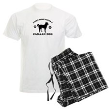 Every home needs a Canaan Dog pajamas