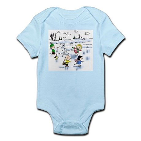 Snow Scene Infant Bodysuit