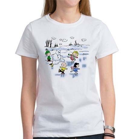 Snow Scene Women's T-Shirt
