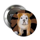 "StephanieAM Bulldog 2.25"" Button"