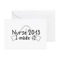 Nurse Graduated 2013 Greeting Card