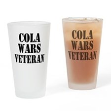 Cola Wars Veteran Drinking Glass
