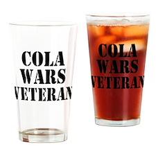 Cola Wars Veteran Drinking Glass