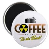 "Atomic Coffee 2.25"" Magnet (10 pack)"