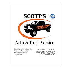 Scott's Auto Posters