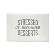 Stressed Spelled Backward Is Desserts Rectangle Ma