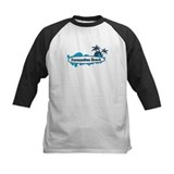 Fernandina Beach - Surf Design. Tee