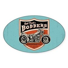 Red Fred's Bobbers Decal