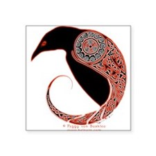Morrigan Oval Sticker