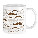 Mustach Brown  Tasse
