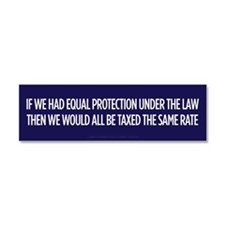 Equal Protection Car Magnet 10 x 3