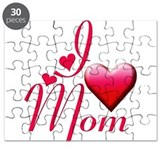 I Love Mom copy Puzzle