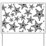 Triple Star Yard Sign