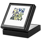 Dive Playa Del Carmen Mexico Keepsake Box
