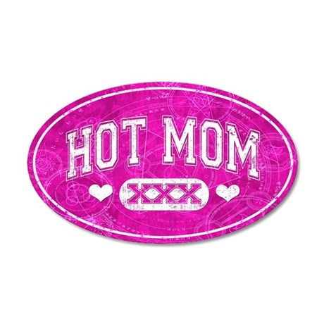 Hot Mom Pink Wall Decal