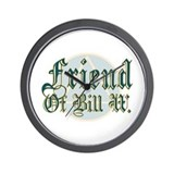 Friend Of Bill W Wall Clock