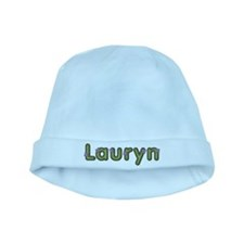 Lauryn Spring Green baby hat