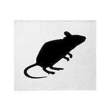 Mouse rat Throw Blanket