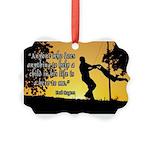 Mr. Rogers Child Hero Quote Picture Ornament