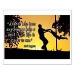 Mr. Rogers Child Hero Quote Small Poster