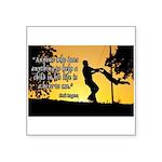 Mr. Rogers Child Hero Quote Square Sticker 3