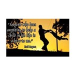 Mr. Rogers Child Hero Quote 35x21 Wall Decal