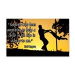 Mr. Rogers Child Hero Quote 20x12 Wall Decal