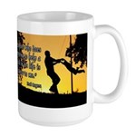 Mr. Rogers Child Hero Quote Large Mug