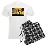 Mr. Rogers Child Hero Quote Men's Light Pajamas