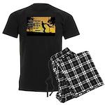 Mr. Rogers Child Hero Quote Men's Dark Pajamas