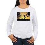Mr. Rogers Child Hero Quote Women's Long Sleeve T-