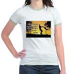 Mr. Rogers Child Hero Quote Jr. Ringer T-Shirt