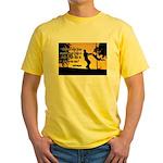Mr. Rogers Child Hero Quote Yellow T-Shirt