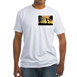 Mr. Rogers Child Hero Quote Fitted T-Shirt