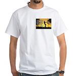 Mr. Rogers Child Hero Quote White T-Shirt