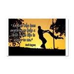 Mr. Rogers Child Hero Quote Car Magnet 20 x 12