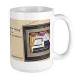 Cherry Tucker's Shops Above Her Raising Mug