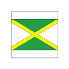 Jamaican Flag Rectangle Sticker