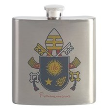 Pope Francis coat of Arms Flask