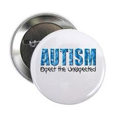 "Autism Expect the Unexpected puzzle 2.25"" Button"
