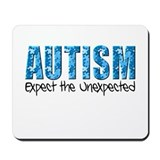 Autism Expect the Unexpected puzzle Mousepad