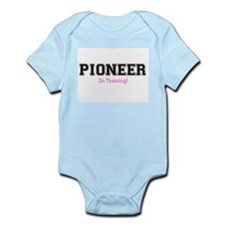 Pioneer In Training Infant Creeper (Girl