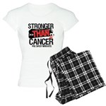 Stronger Than Oral Cancer Women's Light Pajamas