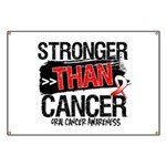 Stronger Than Oral Cancer Banner