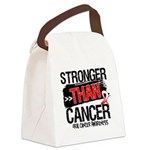 Stronger Than Oral Cancer Canvas Lunch Bag