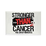 Stronger Than Oral Cancer Rectangle Magnet